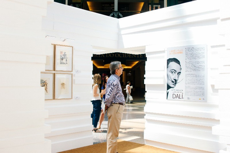 The Divine Comedy by Salvador Dali travels to Brazil!